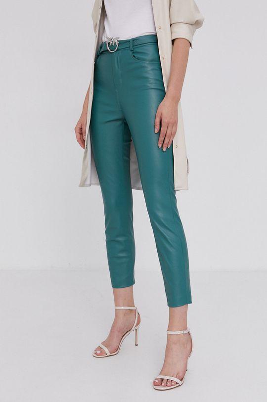 zielony Pinko - Spodnie Damski