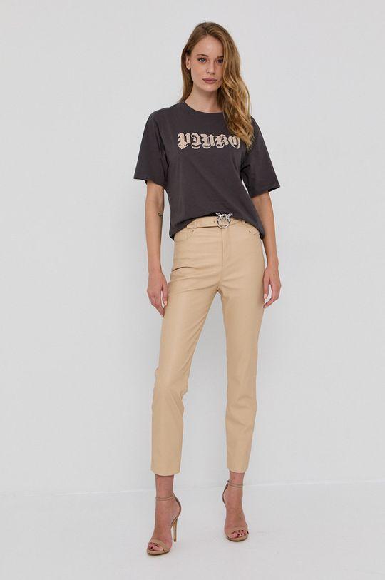 Pinko - Spodnie beżowy