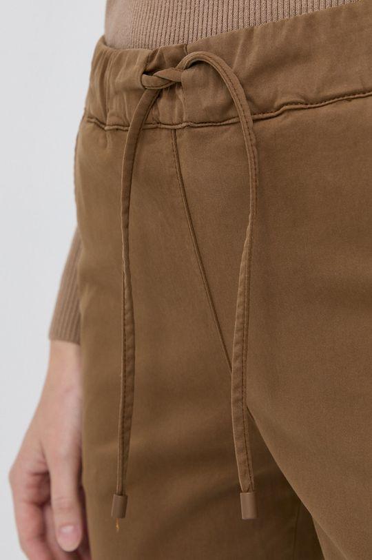 brązowy Max Mara Leisure - Spodnie Terreno