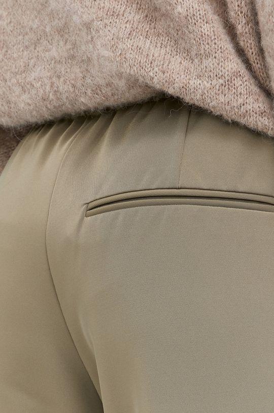 olivová Samsoe Samsoe - Kalhoty