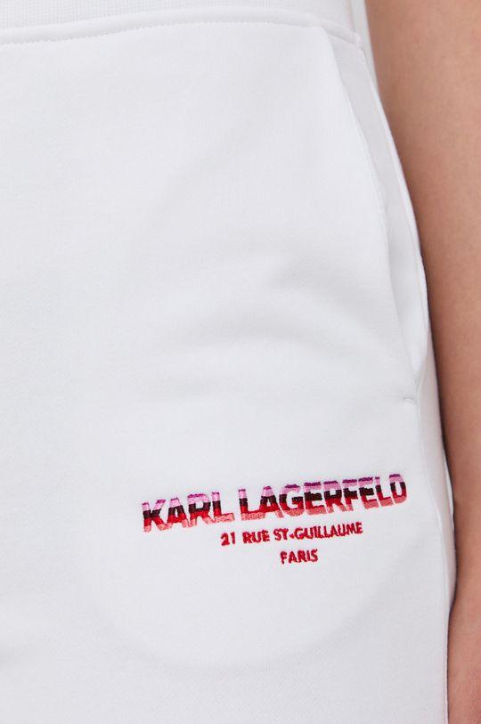 biały Karl Lagerfeld - Spodnie