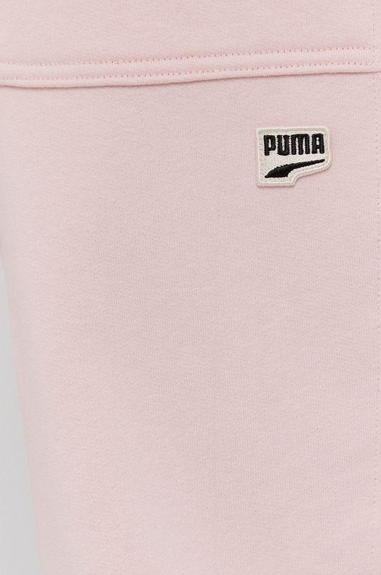 różowy Puma - Spodnie