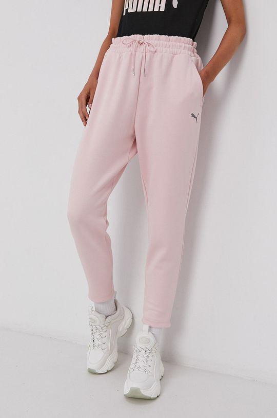 różowy Puma - Spodnie Damski