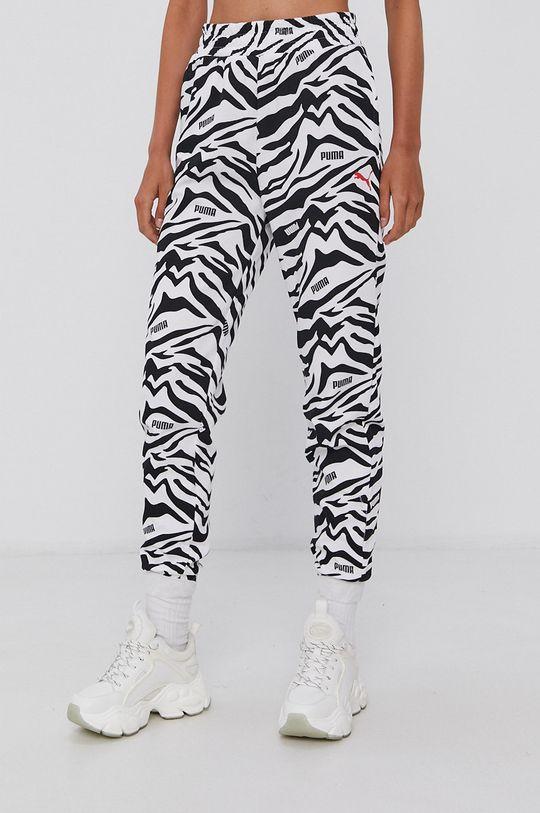 Puma - Spodnie biały