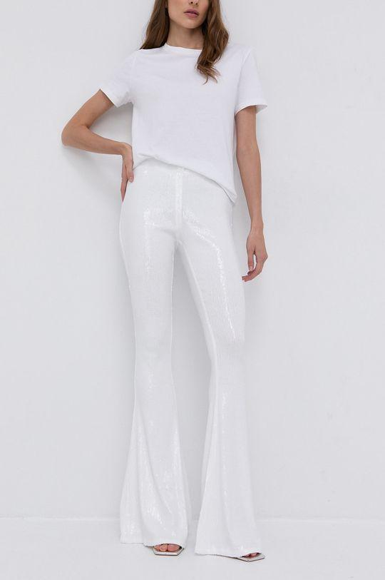 biały Twinset - Spodnie Damski