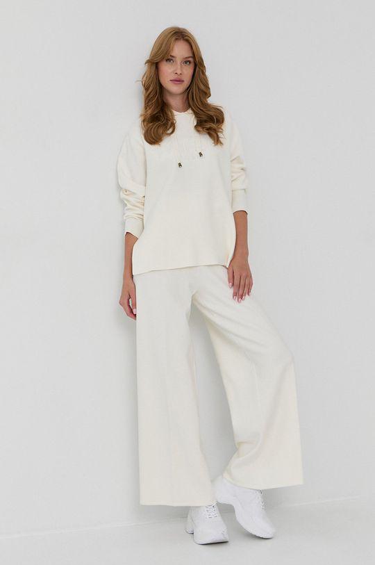 Twinset - Pantaloni culoarea tenului