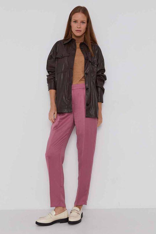 Armani Exchange - Pantaloni roz rosu