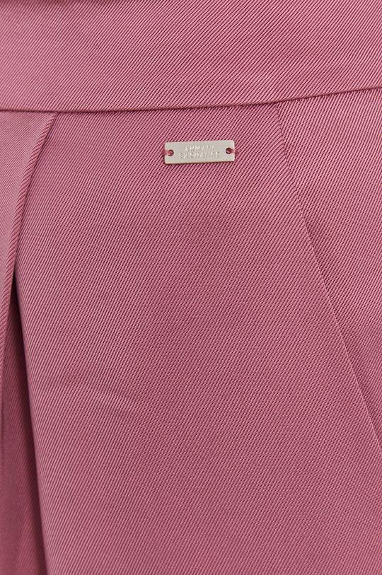 roz rosu Armani Exchange - Pantaloni