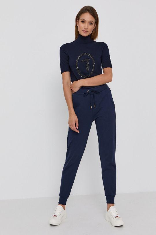 Trussardi - Kalhoty námořnická modř