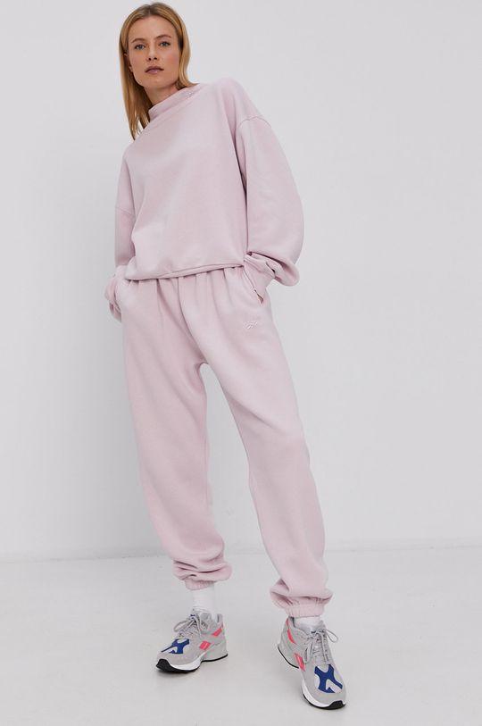 Reebok Classic - Nohavice pastelová ružová