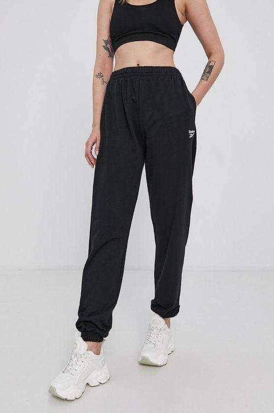 černá Reebok Classic - Kalhoty Dámský