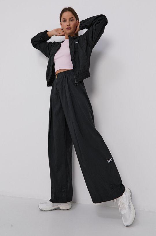 černá Reebok - Kalhoty Dámský