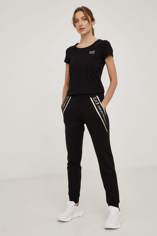 EA7 Emporio Armani - Kalhoty černá