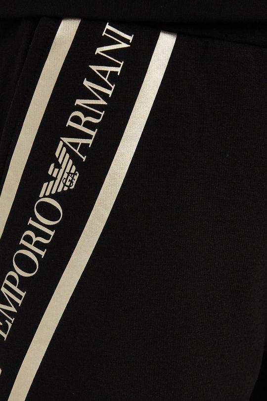 černá EA7 Emporio Armani - Kalhoty
