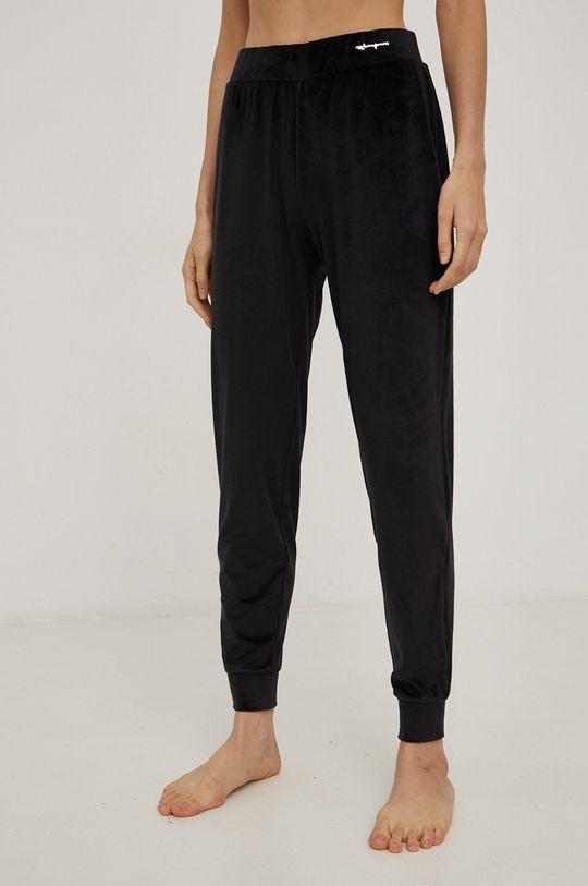 černá Emporio Armani Underwear - Pyžamové kalhoty Dámský