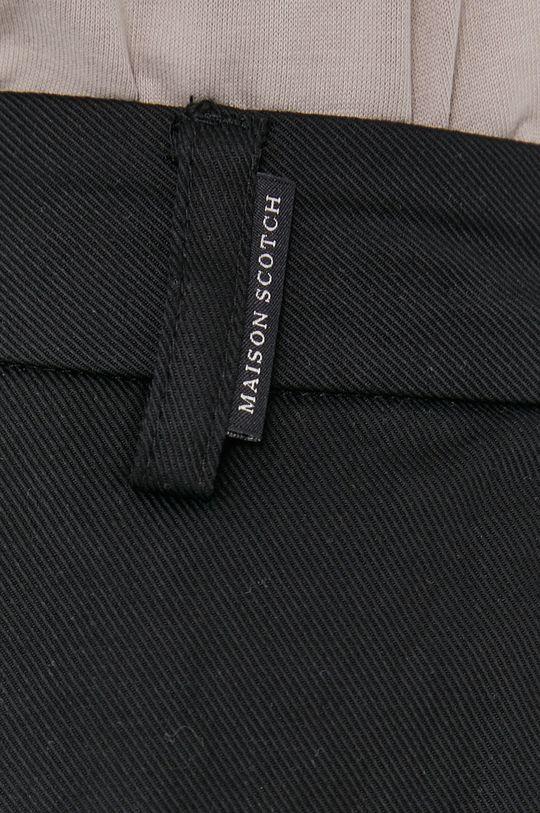 czarny Scotch & Soda - Spodnie