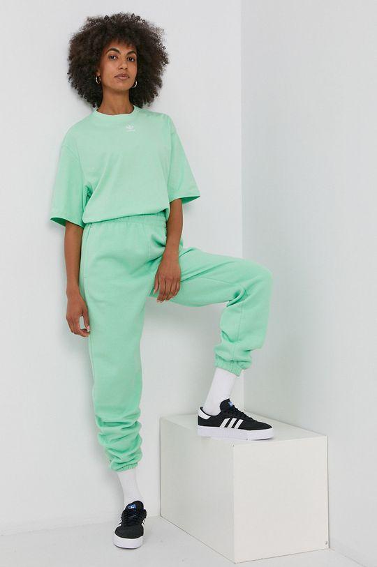 blady zielony adidas Originals - Spodnie Damski