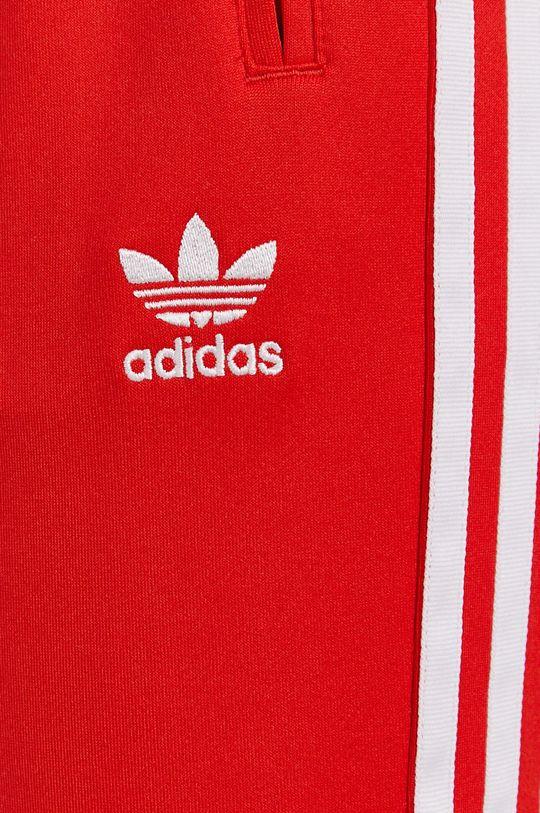 czerwony adidas Originals - Spodnie