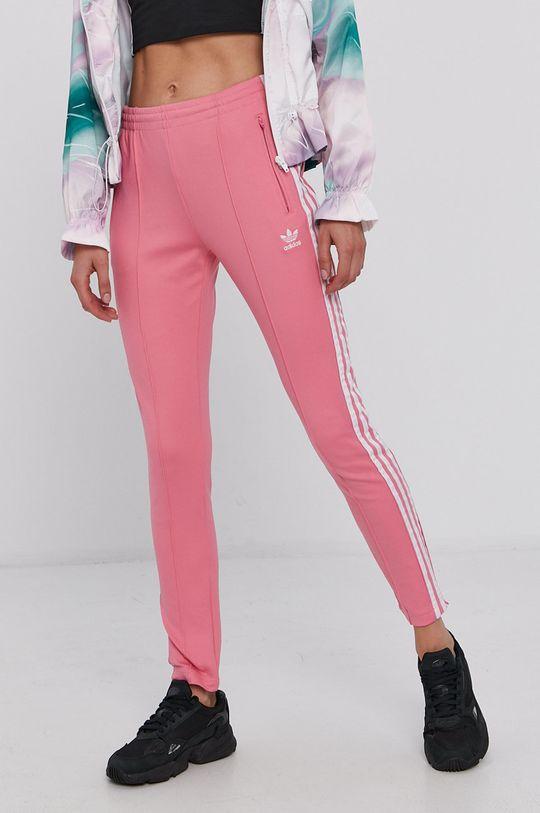 różowy adidas Originals - Spodnie Damski