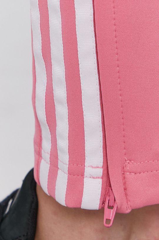 różowy adidas Originals - Spodnie