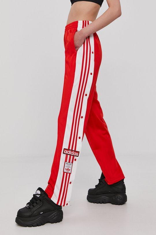 adidas Originals - Spodnie czerwony