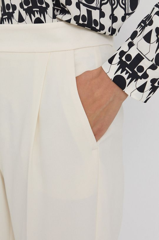 kremowy Marella - Spodnie