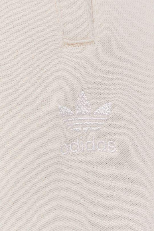 krémová adidas Originals - Nohavice