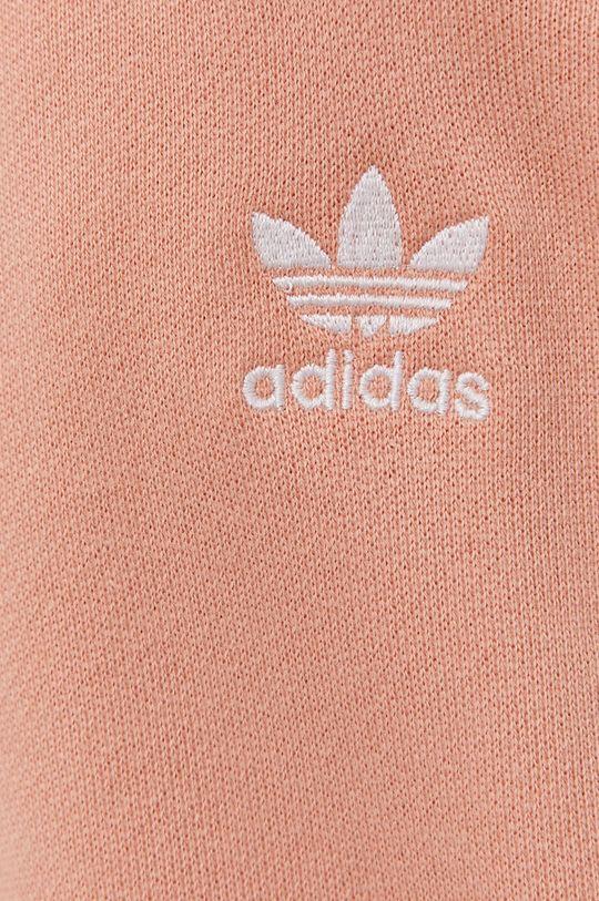 broskyňová adidas Originals - Nohavice
