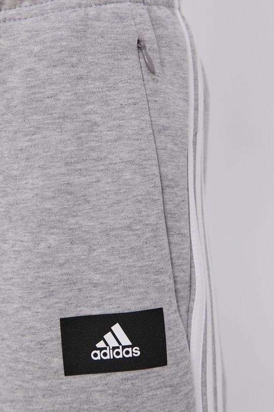 adidas Performance - Kalhoty  57% Bavlna, 33% Recyklovaný polyester, 10% Recyklovaná bavlna