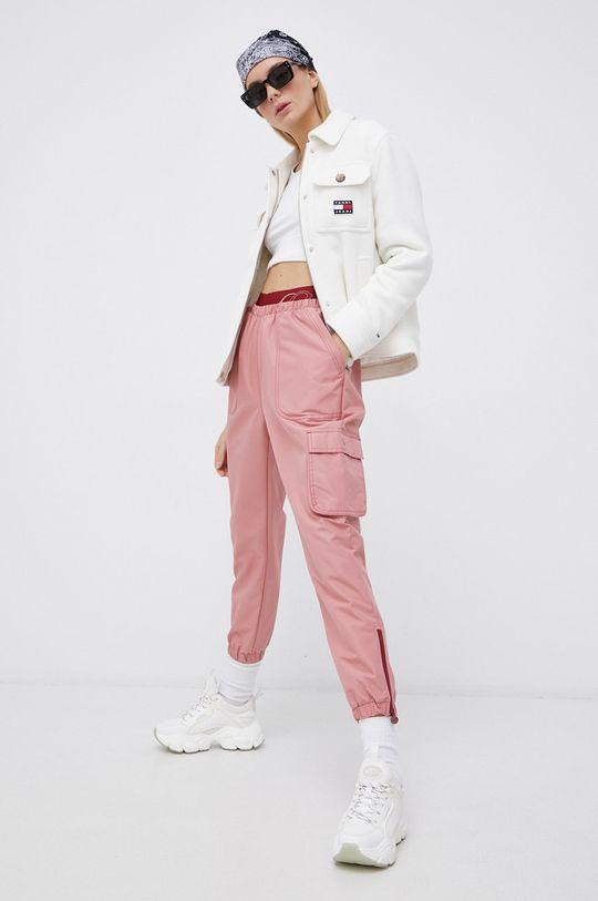 Reebok Classic - Spodnie x Cardi B różowy