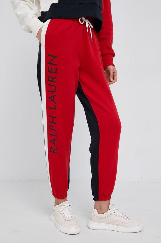 červená Polo Ralph Lauren - Kalhoty Dámský