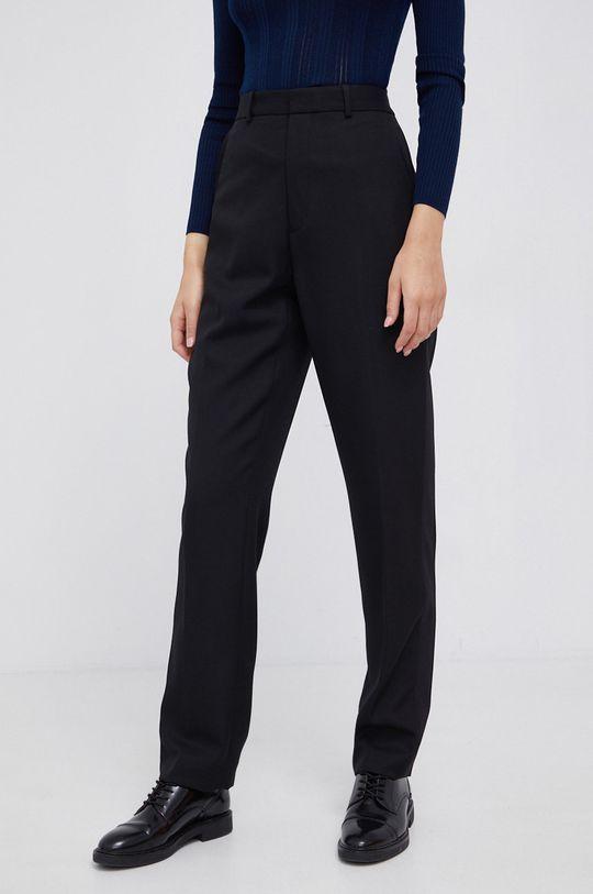 czarny Polo Ralph Lauren - Spodnie jedwabne Damski