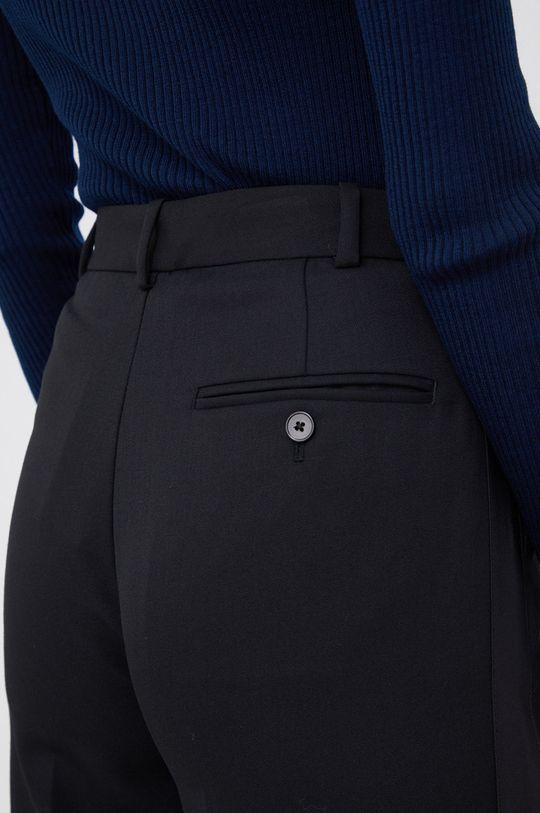 czarny Polo Ralph Lauren - Spodnie jedwabne