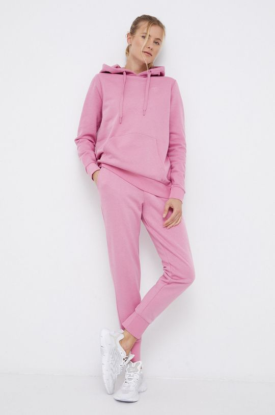 4F - Spodnie różowy