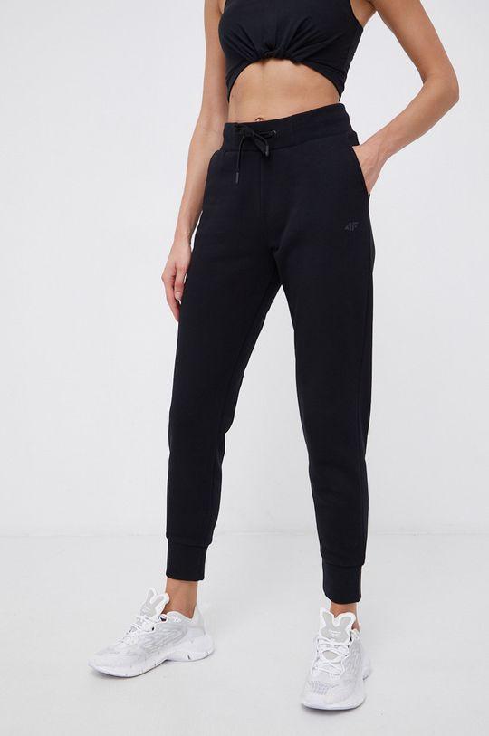 czarny 4F - Spodnie Damski