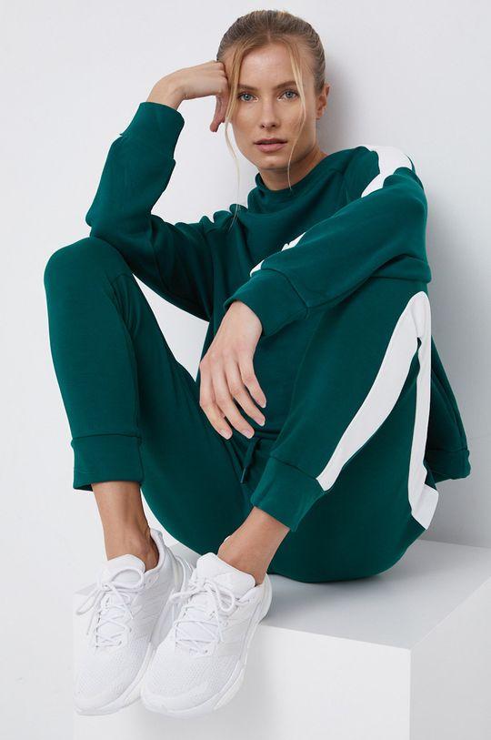 ciemny zielony 4F - Spodnie Damski