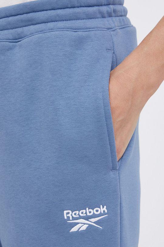 niebieski Reebok - Spodnie