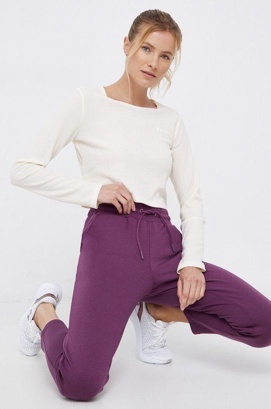 purpurowy 4F - Spodnie Damski