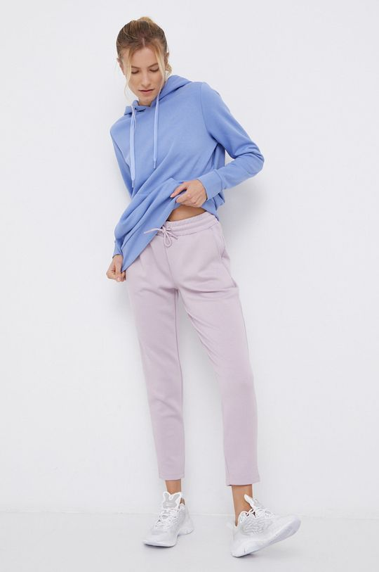 fioletowy 4F - Spodnie