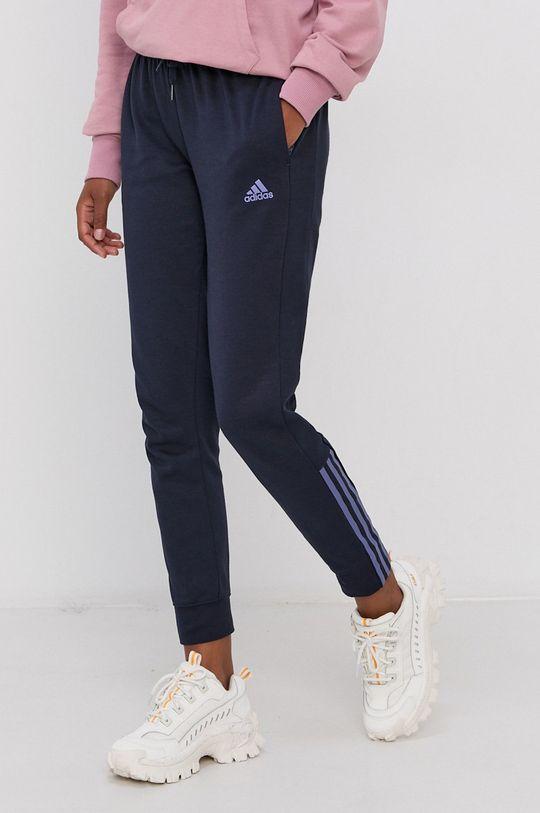 granatowy adidas - Spodnie Damski