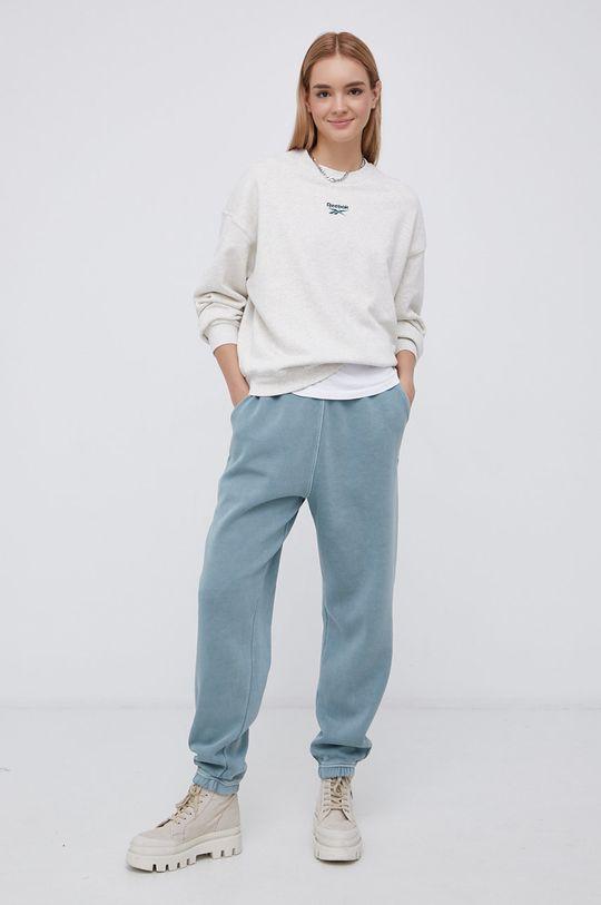 tyrkysová Reebok Classic - Kalhoty Dámský
