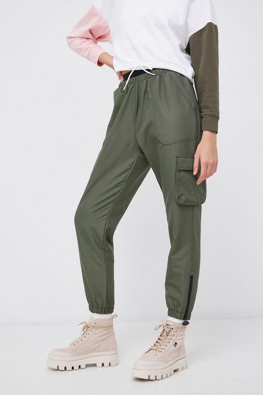brązowa zieleń Reebok Classic - Spodnie x Cardi B Damski