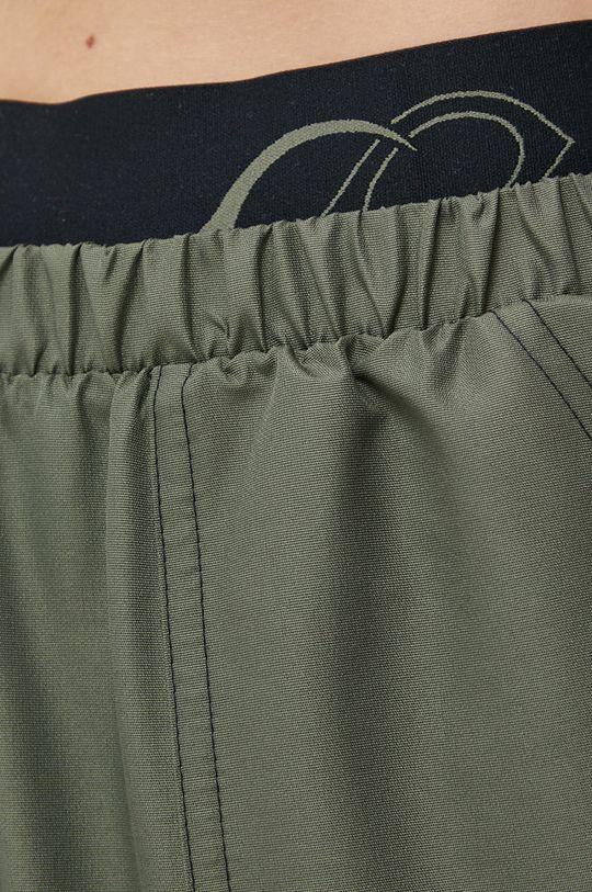 brązowa zieleń Reebok Classic - Spodnie x Cardi B