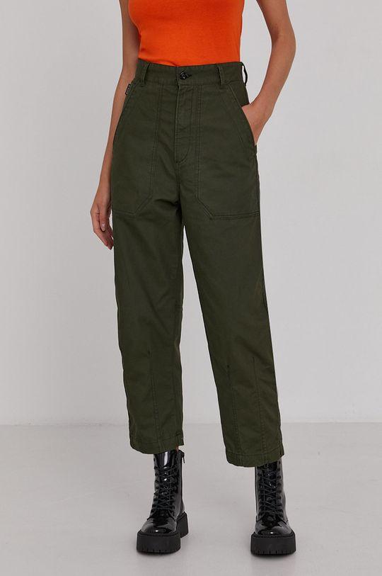 zelená G-Star Raw - Kalhoty Dámský