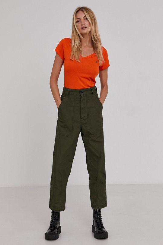 G-Star Raw - Kalhoty zelená