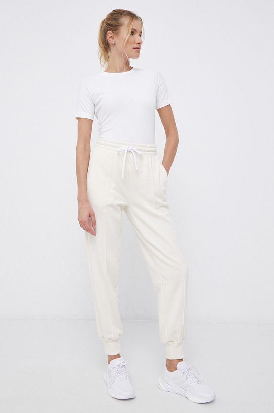 adidas Performance - Spodnie x Karlie Kloss kremowy