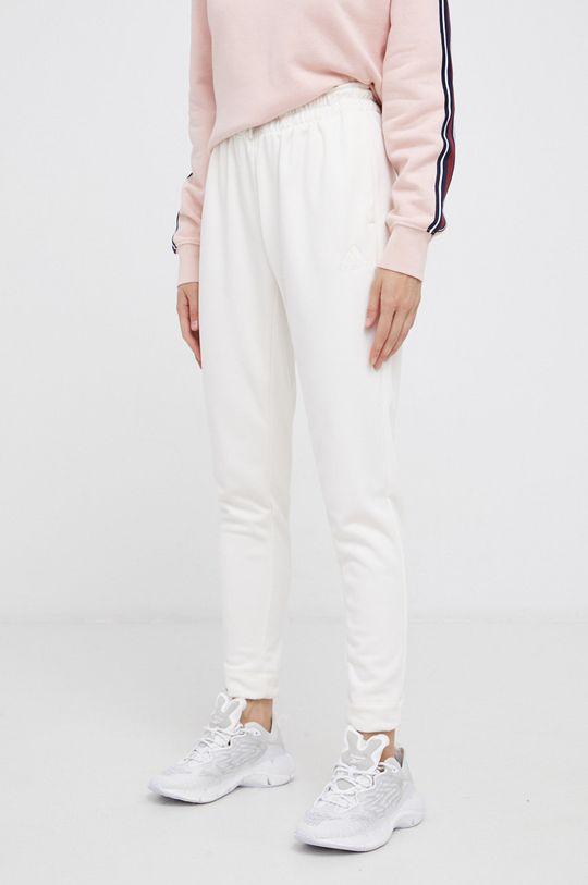 kremowy adidas Performance - Spodnie Damski
