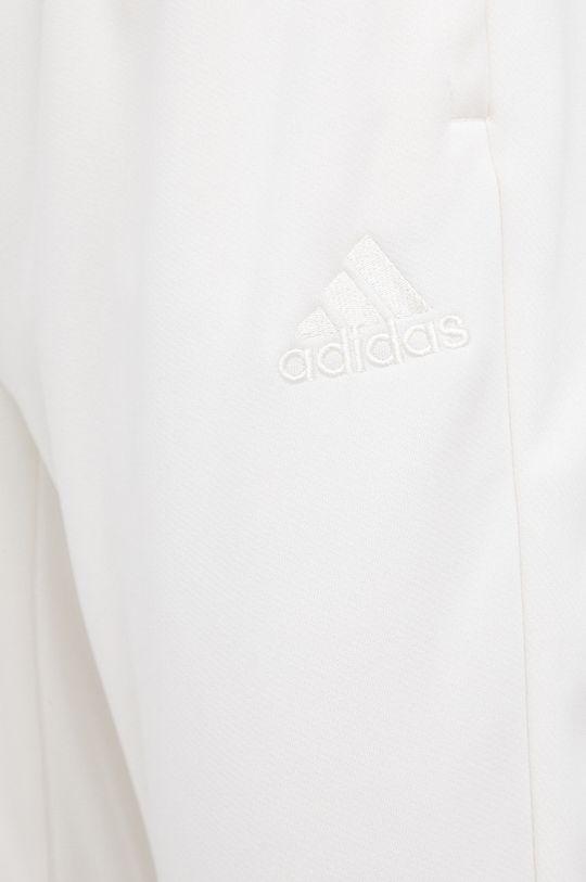 kremowy adidas Performance - Spodnie