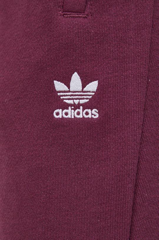 ciemny fioletowy adidas Originals - Spodnie