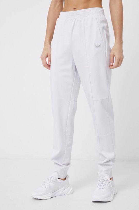 Calvin Klein Performance - Spodnie jasny szary